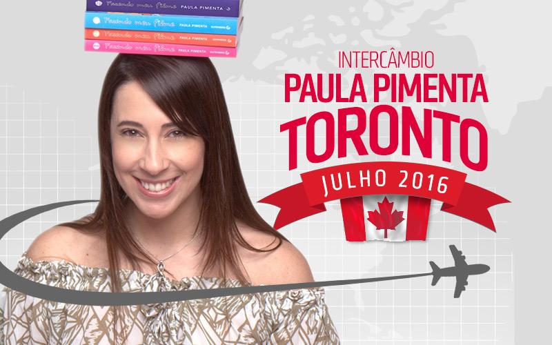 Intercâmbio Com Paula Pimenta Em Toronto 2016