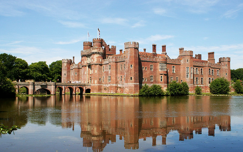Inglaterra - Herstmonceux Castle