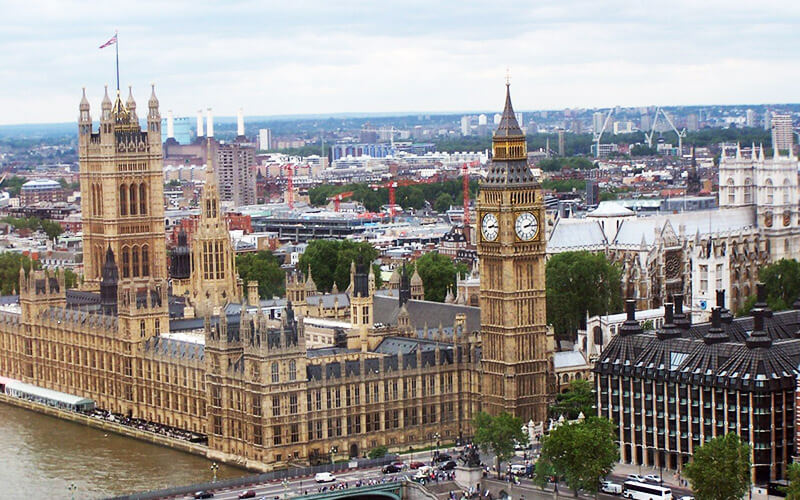Inglaterra - Palace Of Westminster